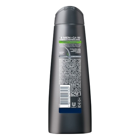 PNG - Dove Men+Care Shampoo Limpieza Refrescante 200ml