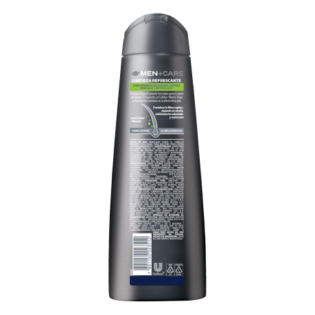 PNG - DOVE_HAIR-MEN_LIMP REFRESC_SH400ML_BOP_7891150023512_ARG