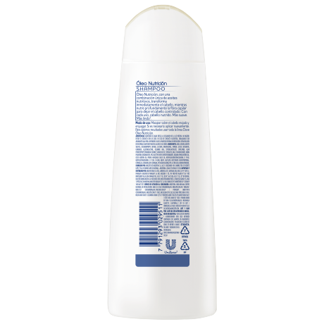 PNG - Dove Nutritive Solutions Shampoo Óleo Nutrición 200ml