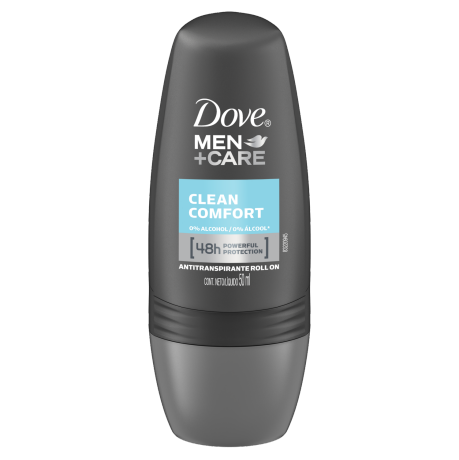 Dove Antitranspirante Roll On Clean Comfort Men+Care 50ml