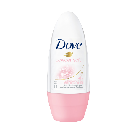 Dove Desodorante Roll on Powder Soft 50ml