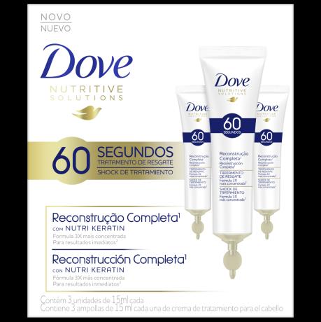 Dove Ampollas Reconstrucción Completa 15ml