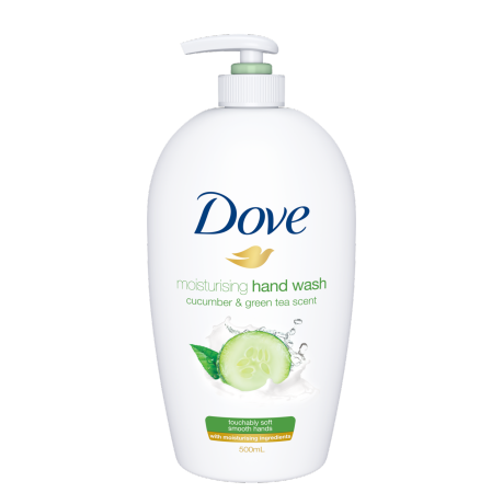 Dove Hand Wash Cucumber & Green Tea 500ml