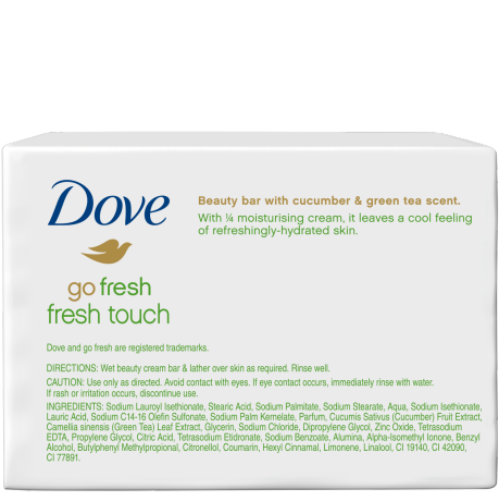 DOVE BEAUTY BAR FRESH TOUCH 400 GR