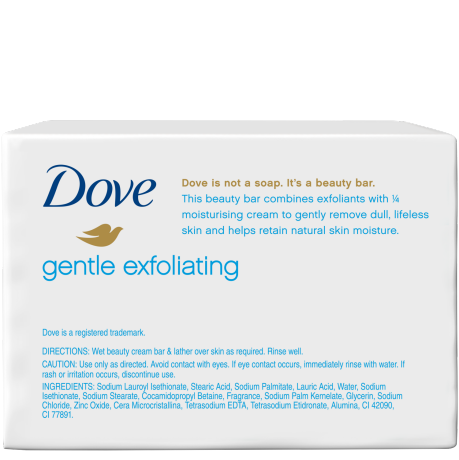 DOVE BEAUTY BAR SOFT PEELING EXFOLIATING 200 GR