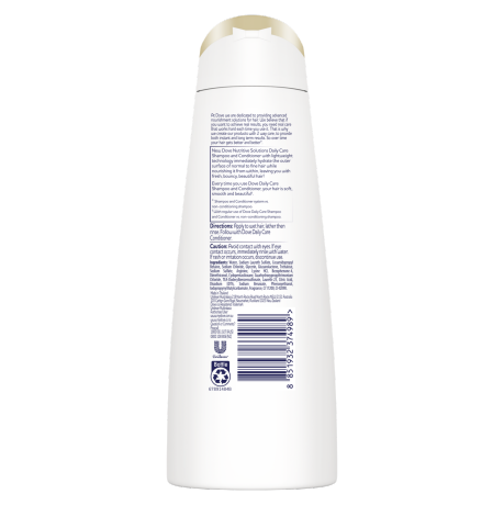 PNG - Dove Nutritive Solutions Shampoo Daily Care 320ml
