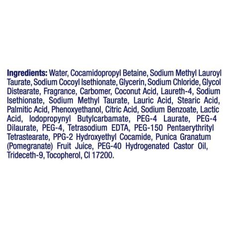 PNG - Dove Body Wash Pomegranate And Lemon Verbena 1L