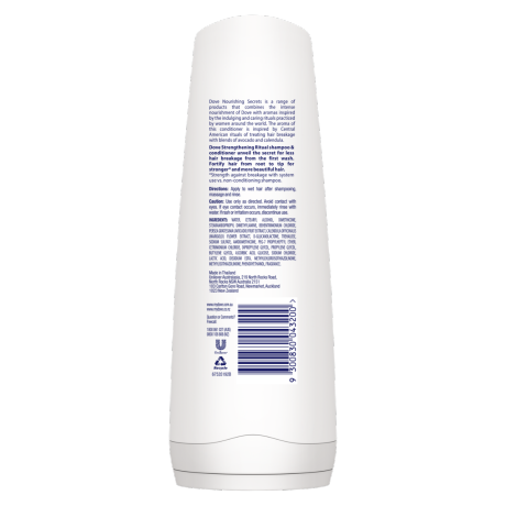 PNG - Dove Nourishing Secrets Conditioner Strengthening Ritual 320ml,