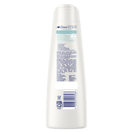 PNG - DOVE SHAMPOO AD CLEAN AND BALANCED 300 ML