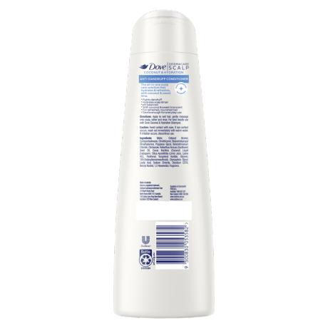 PNG - DOVE CONDITIONER AD COCONUT HYDRATION 300 ML