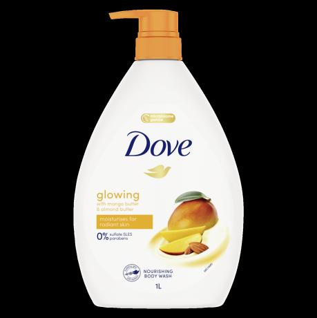 Dove Glowing Mango Body Wash 1L