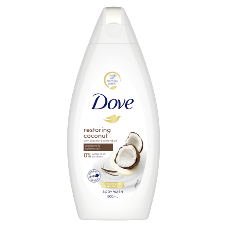 Dove Restoring Body Wash 500ml
