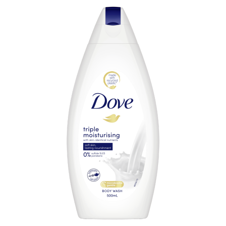 Dove Triple Moisturising Care Body Wash 500ml