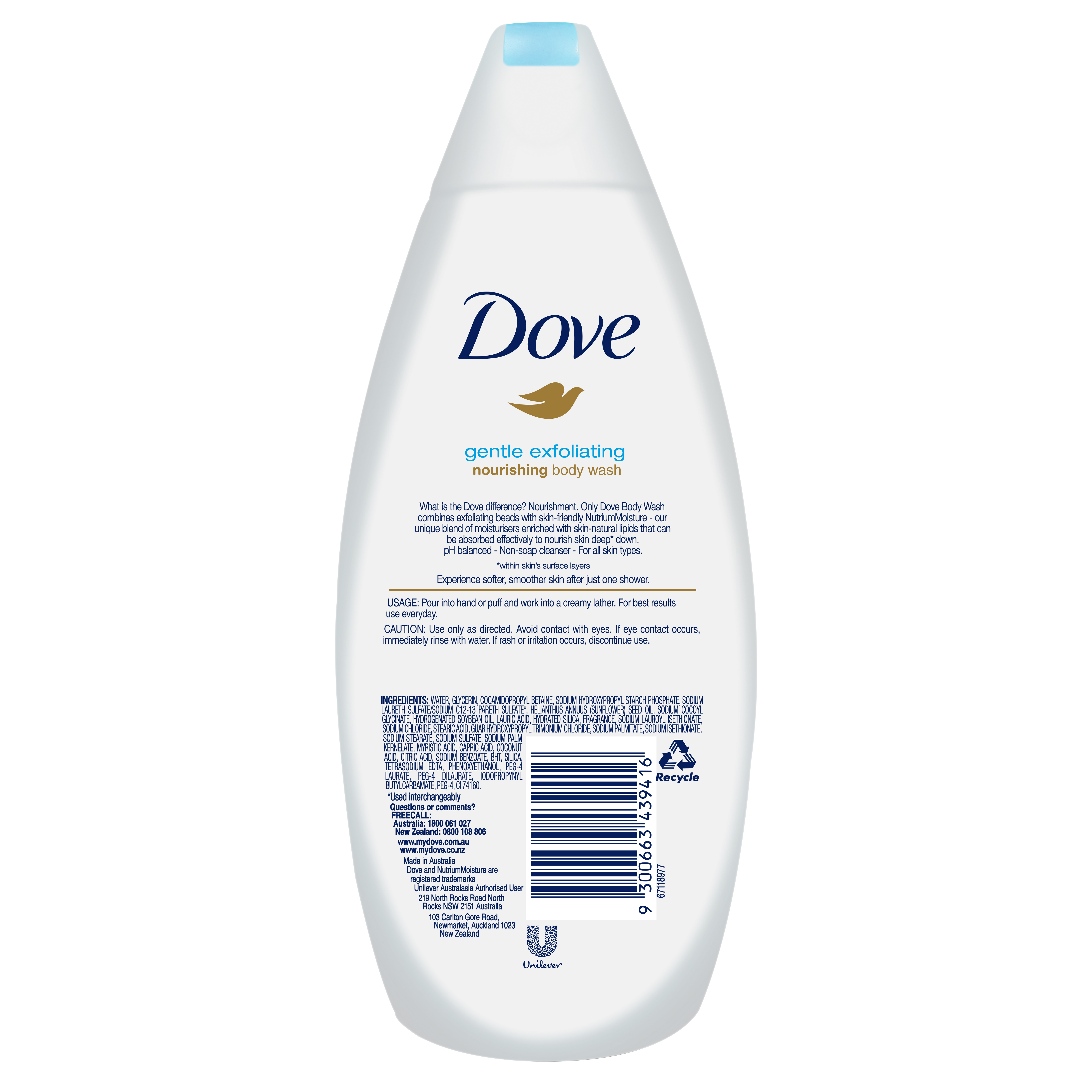 Body Wash Skin Care Beauty Products Dove
