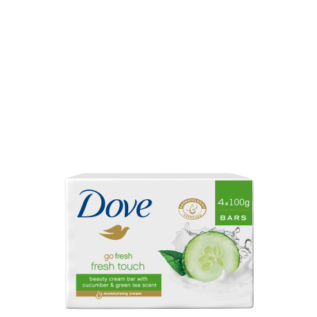 Dove Go Fresh Touch Beauty Cream Bar 4x100g