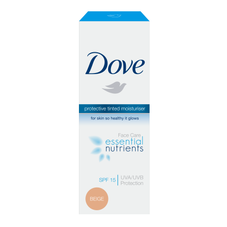 Dove Essential Nutrients Tinted Moisturiser Beige SPF 15 50ml