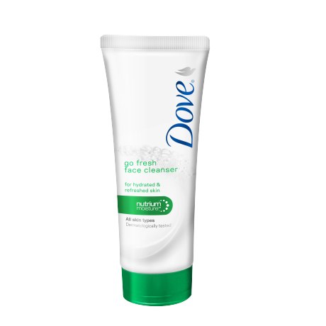 Dove Go Fresh Face Cleanser 100ml