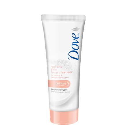 Dove Radiant Skin Face Cleanser 100ml