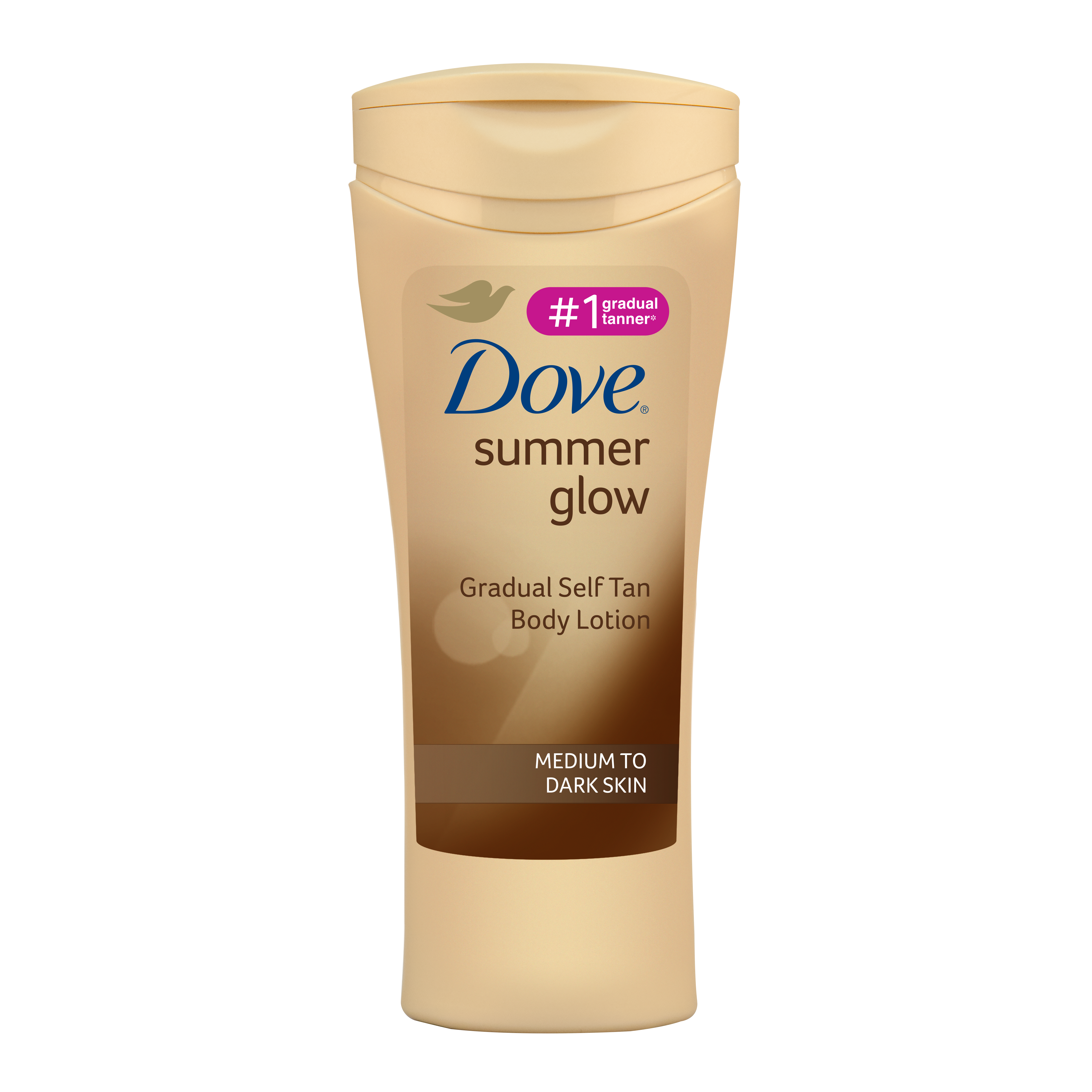 Dove Summer Glow Gradual Self Tan Body Lotion Medium To Dark