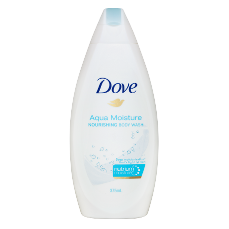 Dove Aqua Moisture Body Wash 375ml