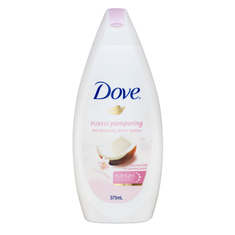 Dove Purely Pampering Nourishing Body Wash with Coconut Milk and Jasmine Scent 375ml