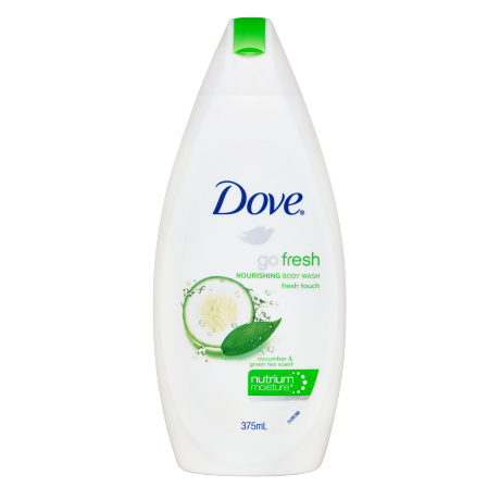Dove Go Fresh Touch Nourishing Cucumber and Green Tea Body Wash 375ml
