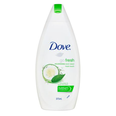 Dove Go Fresh Touch Nourishing Cucumber and Green Tea Body Wash 375ml