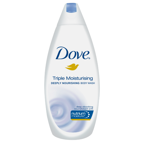 Dove Triple Moisturising Body Wash 375ml