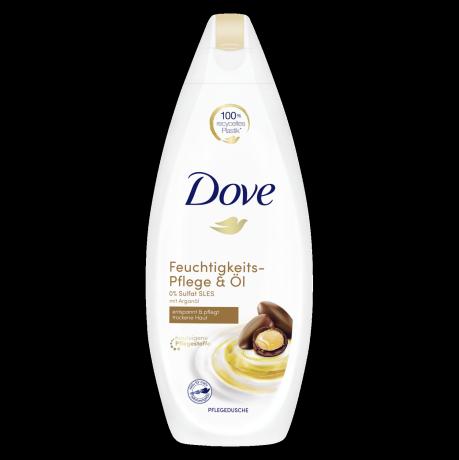 Dove Pflegedusche Feuchtigkeits-Pflege & Öl mit Arganöl 250 ml