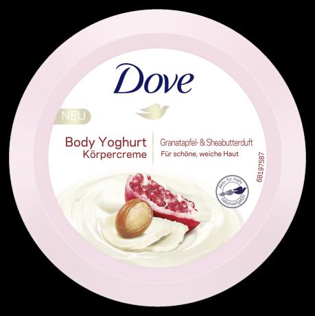 Body Yoghurt Granatapfel- und Sheabutterduft