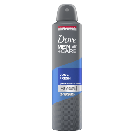 Dove Men+Care Antyperspirant w aerozolu Cool Fresh 250ml