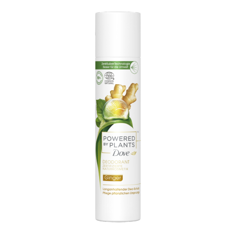 Powered by Plants Ginger Deodorant-Spray