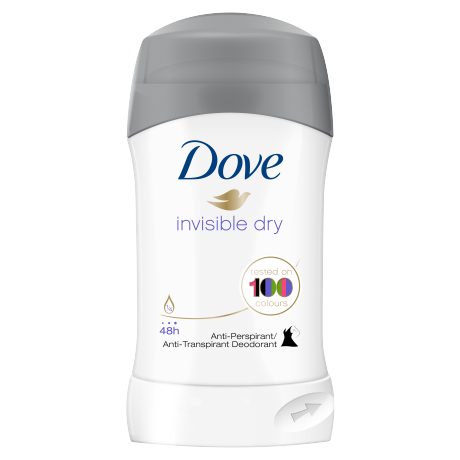 Dove Invisible Dry Anti-Transpirant-Stick 40 ml