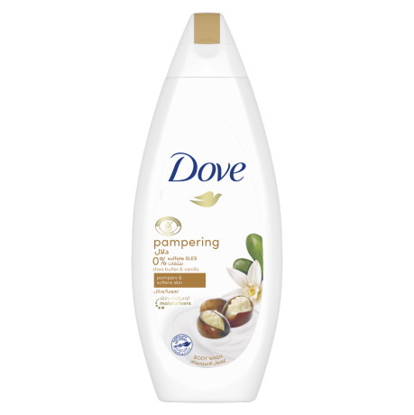 Dove Pampering Shea Butter with Warm Vanilla Body Wash 250ml