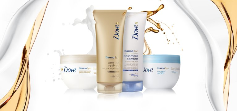 Dove Nouvelle collection soin du corps Dove DermaSpa