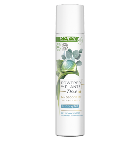 Dove Powered by Plants Eucalyptus Ecospray Deodorant 75ml