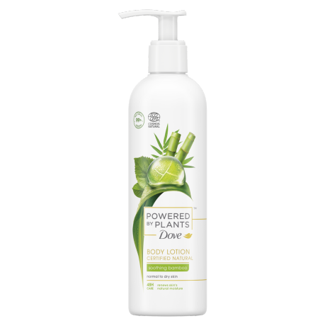 Dove Powered by Plants Soothing Bamboo Bodylotion 250ml