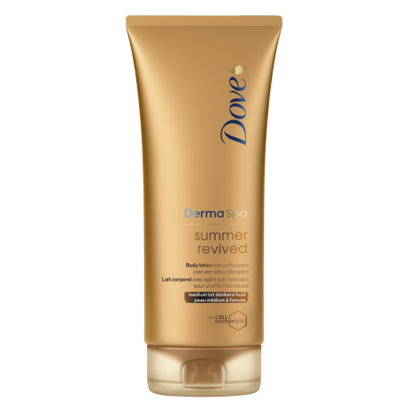 Dove DermaSpa Lotion corporelle Summer Revived dark (peau médium à foncée) 200ml