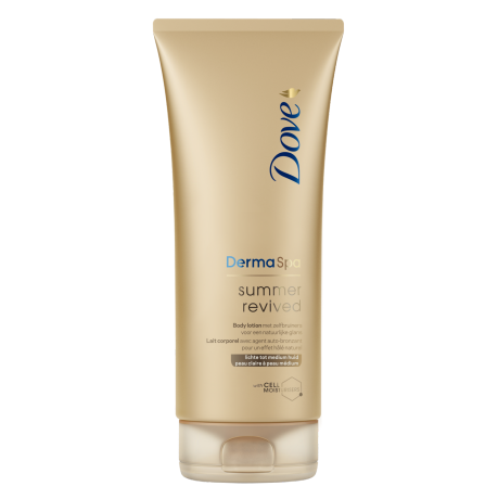 Dove DermaSpa Lotion corporelle Summer Revived Fair (peau claire à médium) 200ml