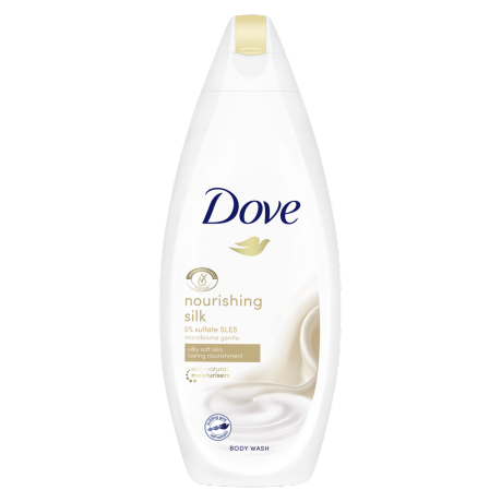 Dove Nourishing Silk douchegel 250ml