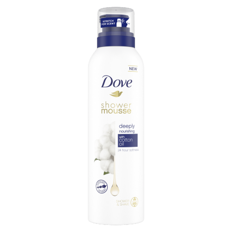 Dove Shower Mousse Deeply Nourishing 200ml