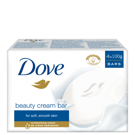 Dove Original Beauty Cream Bar 4x100g