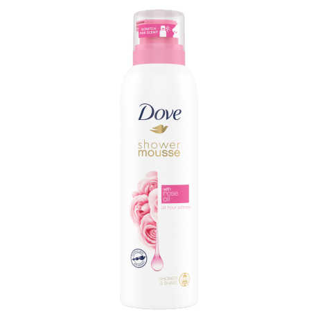 Dove Shower Mousse Rose Oil