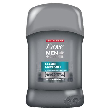Dove Clean Comfort stick déodorant 50ml