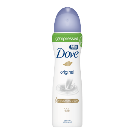 Dove Original compressed spray déodorant 75ml