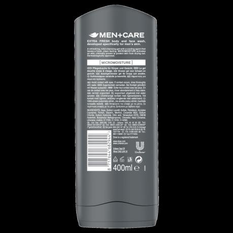 PNG - DOVE_Men Shower Extra Fresh_Back label_400ml_8717644682944_NL