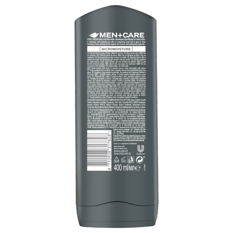 PNG - Dove Men Showergel Cool Fresh 400ML 12x 8710908317828 NL