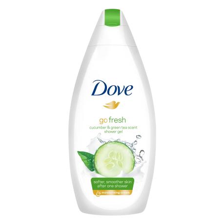 Dove Go Fresh - Cucumber & Green Tea Gel douche 250ml