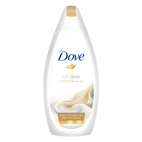 Dove Silk Glow douchegel 250ml