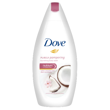 Dove Shower Gel Coconut 250ml